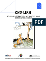 English 6 Dlp 2 Relaying Information Accurately Using Different Dis 150603124218 Lva1 App6892