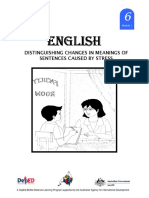 English 6 Dlp 1 Distinguishing Changes in Meanings of Sentences Cau 150603124118 Lva1 App6892
