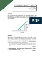 EG1109 Quiz 2 2006 Term 1