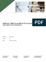 Report Surfnet7 Pbb Te and Mpls Tp
