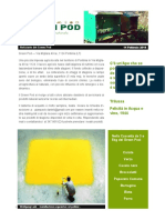 GreenPod Notiziario 14 Febbraio 2016