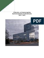 Studiegids Bachelor 2015-2016 Oer en Oep Definitief (17072015) Tcm251-628650
