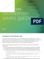 BCG Online Case Example
