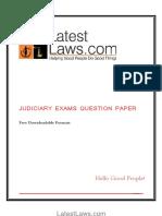 Uttrakhand Judicial Service Prelims. Exam,2008.pdf