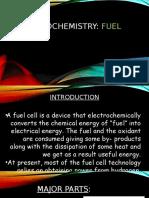 Electrochemistry-fuel cells