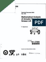 scissor lift design calculation