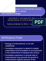 Aromatase Expression in Endometriotic Tissues and Its Relationship