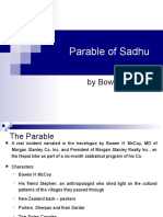 Parable of Sadhu play