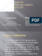 Cement Plant Design-1