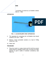cement soundness test