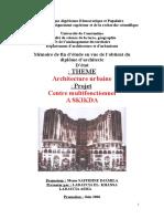 Mémoire Centre Multi Fonctionnel
