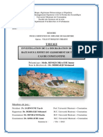 Investigation de La Degradation Du Cadre Bati Sous l'Effet Du Glissement de Terrain Cas de Constantine