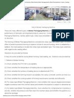 FAQ of Blister Packaging Machine-Jornen Machinery_ Blister Machine, Blister Packaging Machine, Blister Packing Machine, Cartoner, Cartoning Machine for Pharmaceutical Packaging