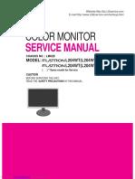 lg Flatron l204wt-sf. Service Manual