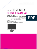 lg Flatron l204wt-sf. Service Manual