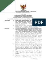37 KEPMEN-KP 2013-Perlindungan Terbatas Napoleon