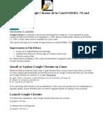Instalar Chrome -Centos7