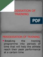 Periodisation of Training