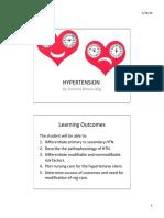 Med Surg Iggy Hypertension notes