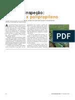 CUSTO COMPARADO - Caixa de Inspeção Alvenaria x Polipropileno
