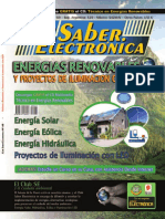 Energias renovables Saber Electronica