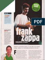 Tg Fusion - Frank Zappa - Soloing Study (3)
