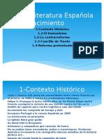 Literatura Española Del Renacimiento