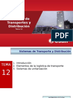 Tema 12 Sistemas de Transportes y Distribucion