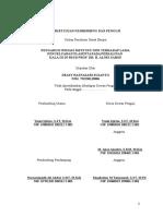 Persetujuan Proposal Penelitian