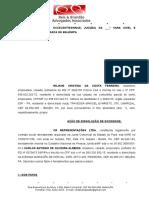 Ação de Dissolução de Sociedade Empresarial - Rejane Costa.doc