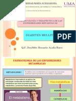 Farmacoterapia en Diabetes