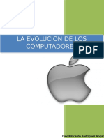 La Evolucion de Los Computadores David Rodriguez