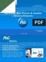 Marketing Mix y Quinto Elemento de P&G