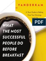 Pages From What the Most Successful People Do Before Breakfast - Laura Vanderkam