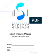 Basic Training Manual Updated 09-05-14