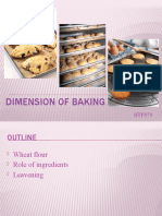 Dimension of Baking
