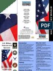 Veterans Job Brochure, Design by Jannet Walsh, June 2010
