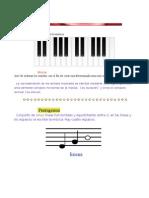 Teoría y práctica de la música.