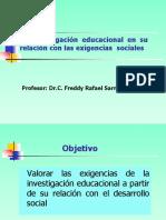Clase 1 Investigaci+¦n educacional.Exigencias.pdf