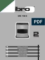 Istruzioni ZIBRO SRE158E