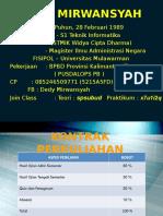 1.Sistem & Analisis Sistem