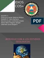 Estudios Geologicos
