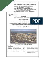 Revitalisation de l'Espace Économique de La Ville d'Annaba « L'Occasion de Réinvestir Qualitativement l'Urbain »