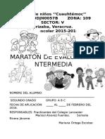 Maraton evaluación intermedia