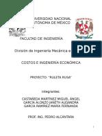 Proyecto Costos e Ingeniería Económica