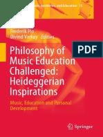[Frederik Pio, Øivind Varkøy (Eds.)] Philosophy Music Heidegger
