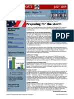 Stimulus Update Newsletter,  July 2009