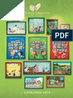 Catalogo Letra Impresa 2015