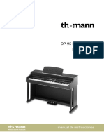 Manual Piano Thomann Dp95 ESPAÑOL