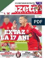 Noua grafică a Gazetei Sporturilor - editie gratuită pentru toţi cititorii
